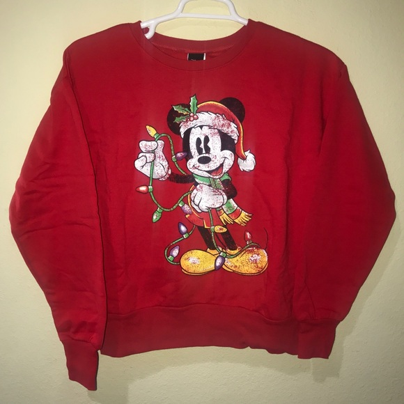 New Disney Mickey Mouse Ugly Christmas Sweater